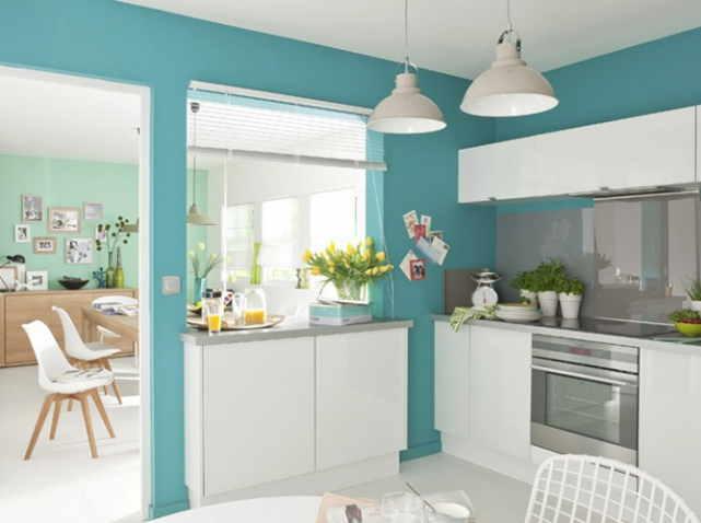 6 cách trang trí nhà đẹp với gam màu xanh lam