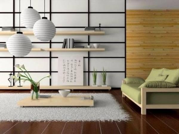 Bí quyết nhân đôi diện tích phòng khách của người Nhật