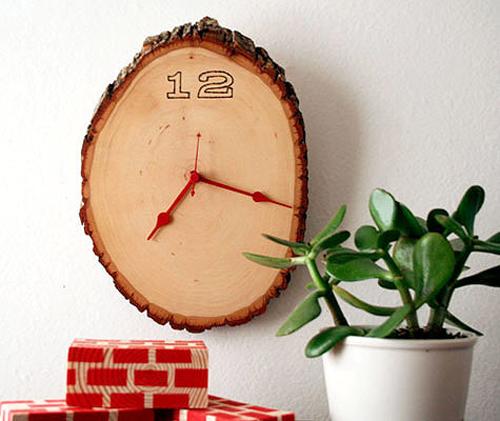Biến những miếng gỗ nhỏ thành phụ kiện trang trí nhà cực chất