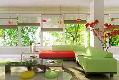 Bindo giúp bạn chọn màu sắc cho phòng khách
