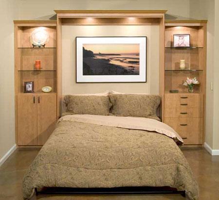 Cách ăn gian diện tích cho phòng ngủ