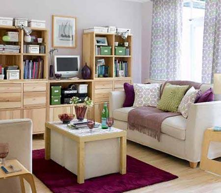 Cách bố trí nội thất cho phòng khách hẹp