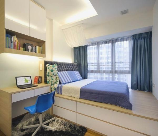 Cách chọn giường có ngăn lưu trữ giúp không gian rộng hơn