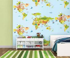Chọn giấy dán tường trẻ em phù hợp với tính cách