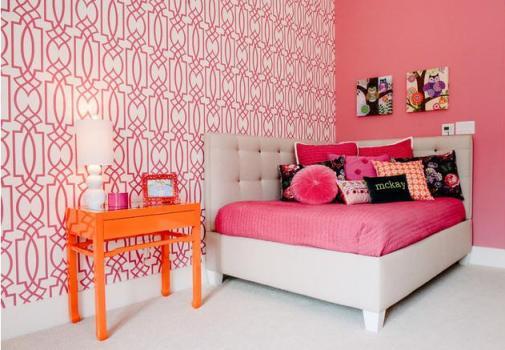 Đón xem 8 mẫu phòng ngủ màu hồng cho mùa đông bớt lạnh