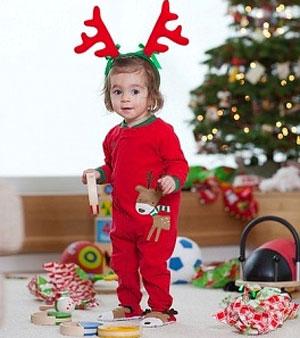 Giữ sức khỏe cho con yêu trong mùa giáng sinh