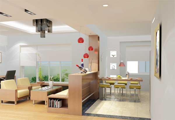 Gợi ý thiết kế phòng khách trong căn hộ chung cư