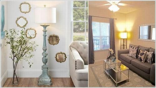 Hướng dẫn bố trí tạo góc cho phòng khách đẹp