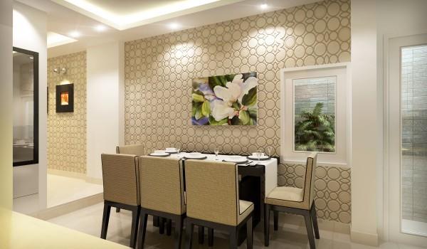 Hướng dẫn chọn giấy dán tường cho phòng bếp