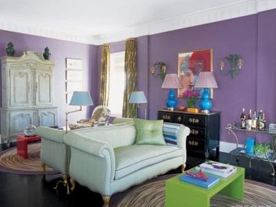 Hướng dẫn trang trí phòng khách đa sắc và ấn tượng