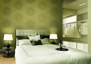 Khách sạn sang trọng hơn với giấy dán tường
