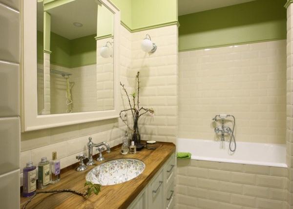Mẫu xốp dán tường cực đẹp cho phòng tắm thêm ấn tượng