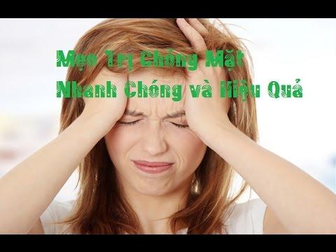 Những liệu pháp chống cơn chóng mặt cho bạn