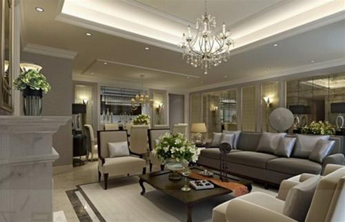 Những mẫu phòng khách sang trọng theo thiết kế Pinchen