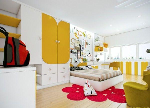 Những mẫu phòng ngủ đẹp cho lứa tuổi thiếu niên