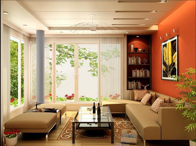 Những mẫu sàn gỗ ấn tượng cho phòng khách