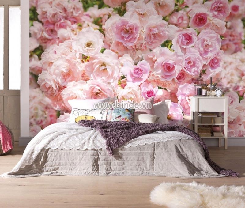 Những mẫu tranh dán tường làm đẹp và ấn tượng cho phòng ngủ