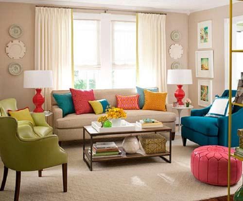 Những nét riêng để tạo dấu ấn cho phòng khách