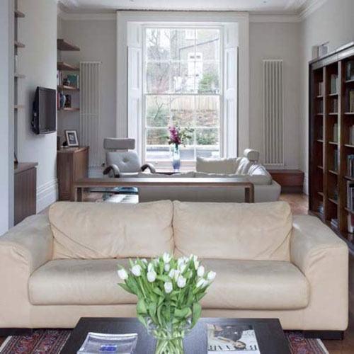 Phòng khách tràn đầy sức sống với thiết kế lạ