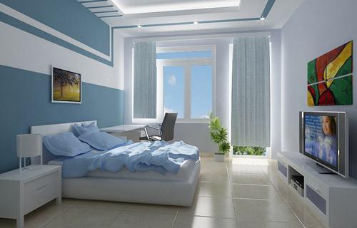 Sáng tạo nội thất cho phòng ngủ thấp sàn
