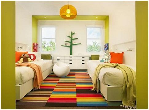 Trang trí phòng bé đẹp tinh tế và cuốn hút với nội thất trắng