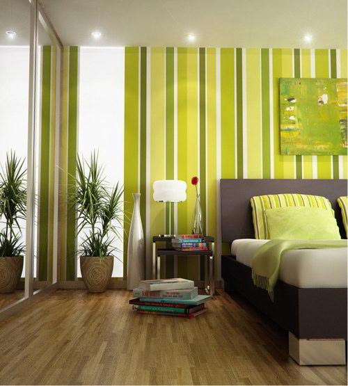 Trang trí phòng ngủ với gam màu xanh ru say giấc nồng