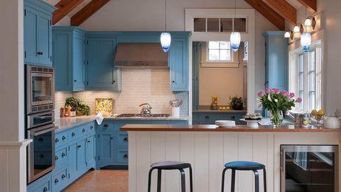 Trang trí tủ bếp theo phong cách hiện đại