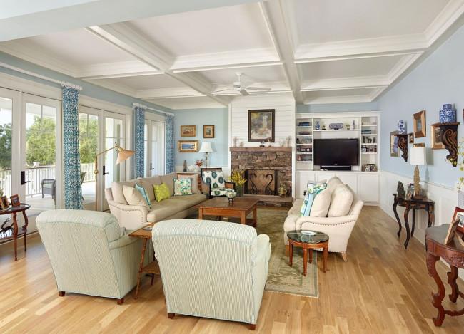 Tuyển tập những phòng khách đẹp mang phong cách đồng quê