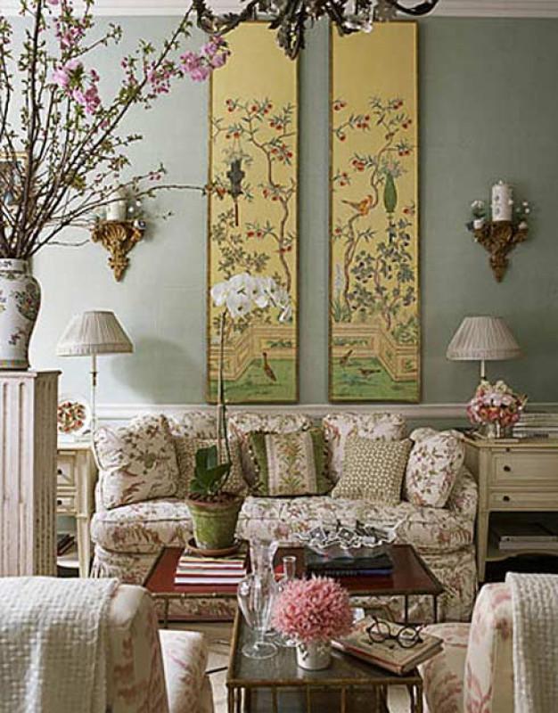 Tuyệt chiêu lạ cho trang trí tường phòng khách