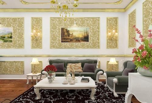 Tuyệt chiêu trang trí nhà với giấy dán tường phá cách đón năm mới