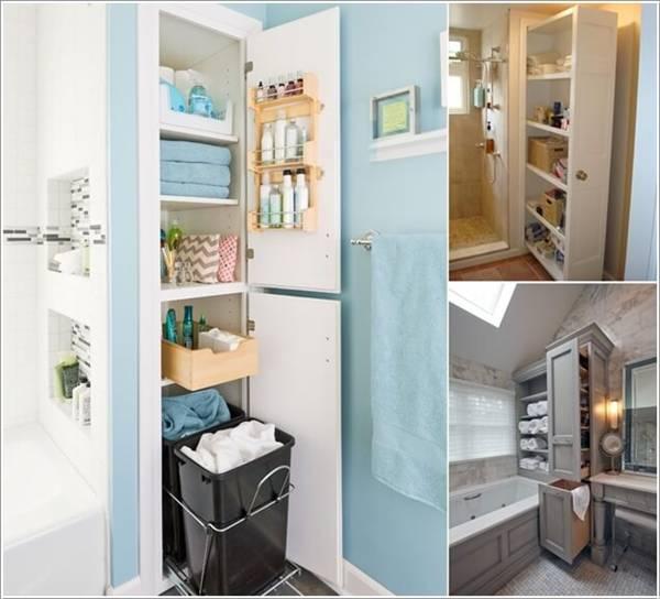 Ý tưởng thiết kế thông minh trong phòng tắm nhà bạn