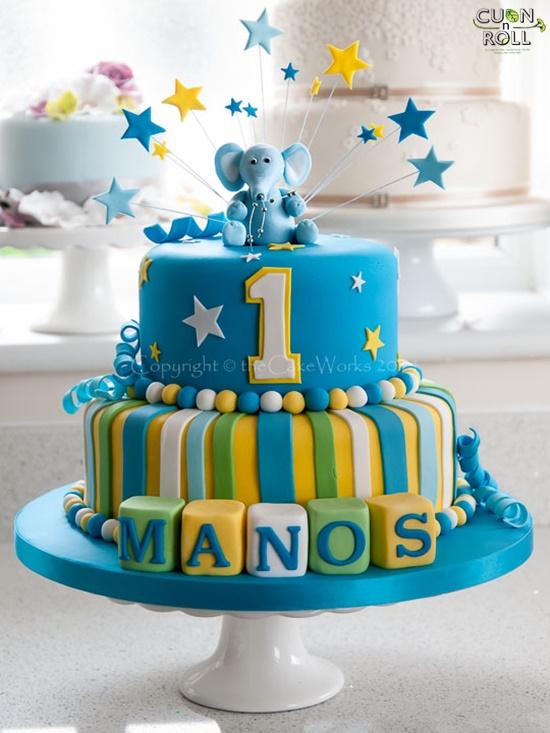 Các mẫu bánh kem sinh nhật cực đáng yêu cho bé trai 6