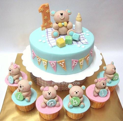 Các mẫu bánh kem sinh nhật cực đáng yêu cho bé trai 8