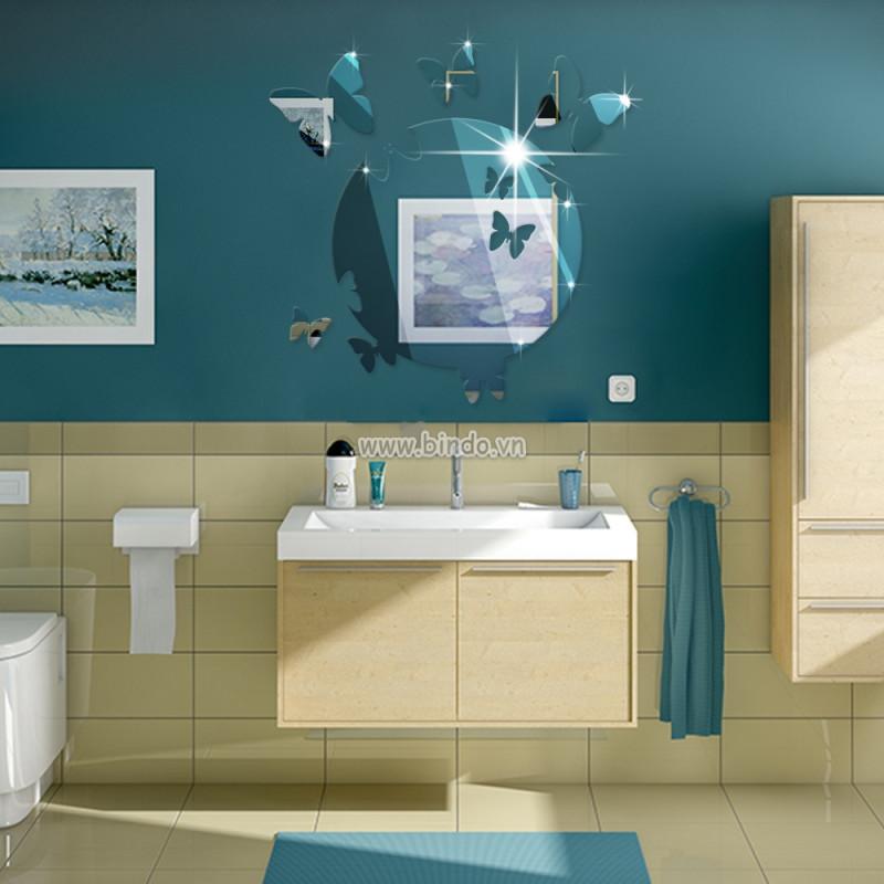 4 mẫu gương trang trí ấn tượng cho phòng tắm