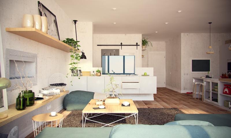 Cận cảnh căn hộ có 2 phòng ngủ tuyệt đẹp nhìn mê ly