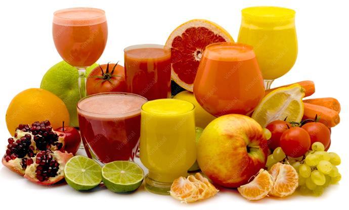 Công dụng chữa bệnh của nước ép trái cây và rau xanh