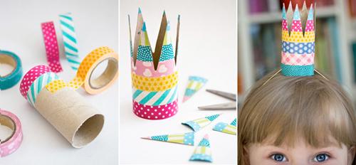 Dạy con làm những đồ vật dễ thương từ lõi giấy vệ sinh