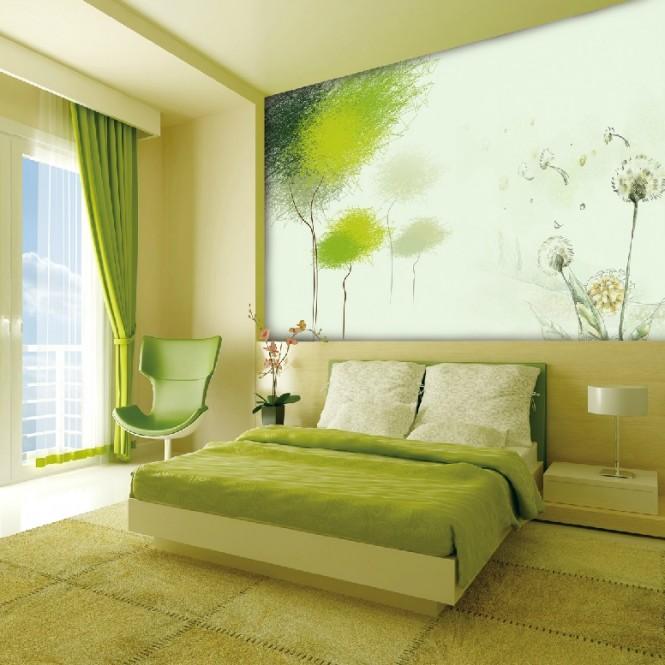 Đẹp lộng lẫy với giấy dán tường phong cách Trung Hoa