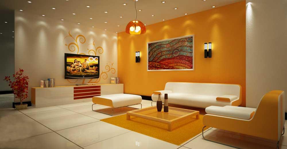 Gợi ý trang trí phòng khách cho người mệnh Thổ