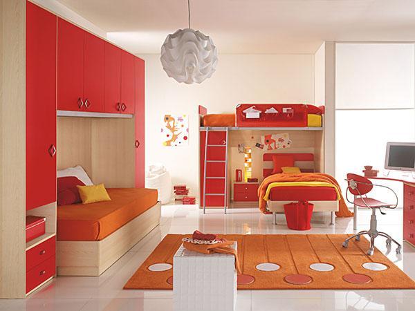 Gợi ý trang trí phòng ngủ màu đỏ
