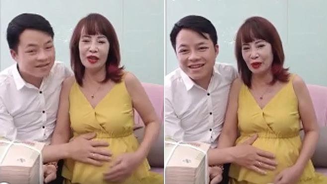 Lý giải cô dâu Thu Sao 62 tuổi mà vẫn có thể mang bầu