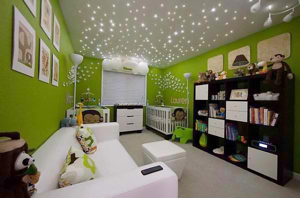 Mẹo trang trí trần nhà cho phòng ngủ của bé