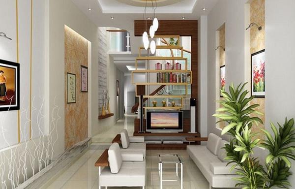 Muôn mẫu thiết kế phòng khách cho nhà ống 5m