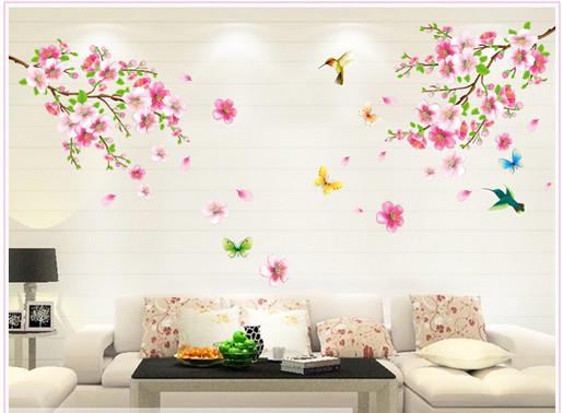 Những mẫu giấy dán tường mùa xuân
