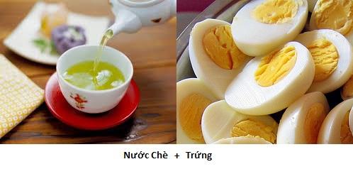 Những thực phẩm nên kiêng không ăn cùng với trứng