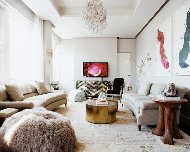 Những ý tưởng trang trí phòng khách đón Tết không thể bỏ qua