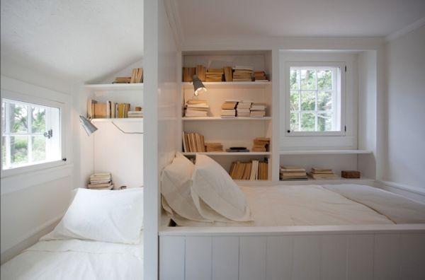 Sáng kiến tiết kiệm diện tích phòng ngủ nhờ lưu trữ ở đầu giường