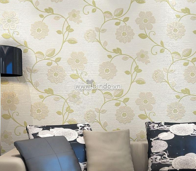 Tham khảo mẫu giấy dán tường 3d cho phòng khách đẹp