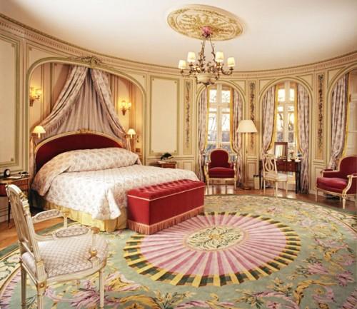 Tham khảo mẫu phòng ngủ theo phong cách hoàng gia