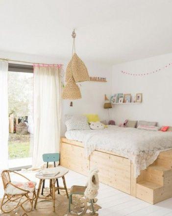 Trang trí phòng ngủ với những mẫu giường gỗ đẹp cho bé